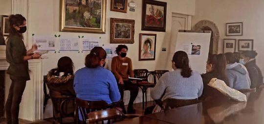 Imagen El Ayuntamiento de Baztan analizó ayer durante dos horas con mujeres migradas de Baztan sus propuestas para mejorar sus condiciones de vida